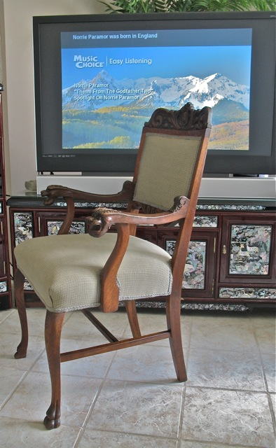 fully repaired antique chair